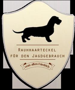 Rauhhaarteckel Logo